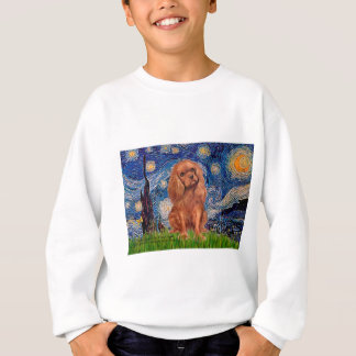 Kavalier (Ruby7) - sternenklare Nacht Sweatshirt