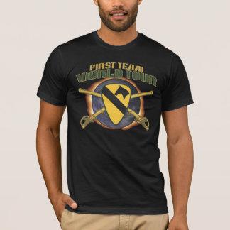 KAVALLERIE-ABTEILUNGS-WELTausflug-FLAMME US 1. T-Shirt