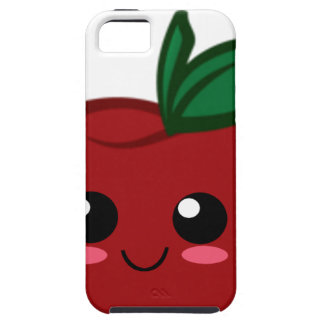 Kawaii Apfelentwurf auf einem iPhone Fall Tough iPhone 5 Hülle