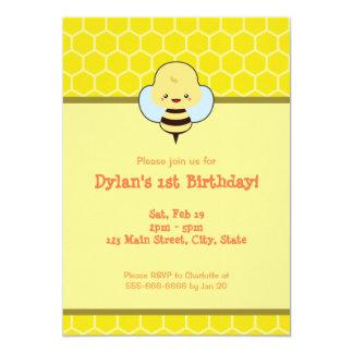 Kawaii Biene 12,7 X 17,8 Cm Einladungskarte
