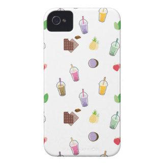 Kawaii Blasen-Tee iPhone 4 Case-Mate Hülle