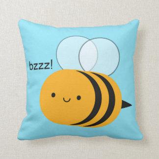 Kawaii Buzzy Hummel-Biene Kissen