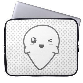 Kawaii, der Geist-Laptop-Hülse blinzelt Laptop Sleeve Schutzhülle