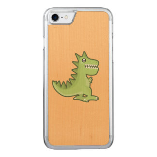 Kawaii Dinosaurier Carved iPhone 8/7 Hülle