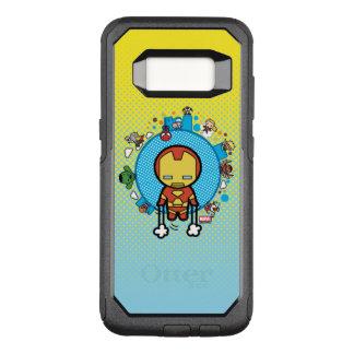 Kawaii Eisen-Mann mit Wunder-Heldern auf Kugel OtterBox Commuter Samsung Galaxy S8 Hülle