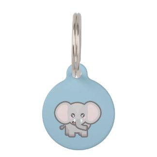 Kawaii Elefant Tiernamensmarke
