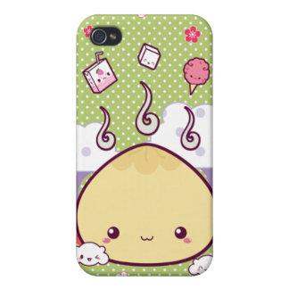 Kawaii Fleisch-Brötchen Etui Fürs iPhone 4