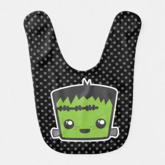Kawaii Frankenstein Baby-Schellfisch Babylätzchen