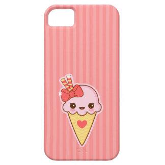 Kawaii glückliche ErdbeerEistüte Schutzhülle Fürs iPhone 5