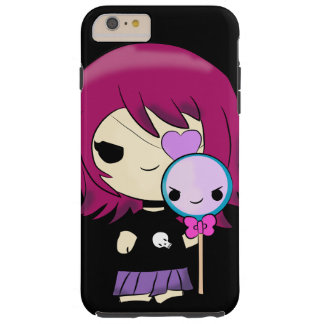 Kawaii gotischer Kasten des Telefons 6/6s Mädchens Tough iPhone 6 Plus Hülle