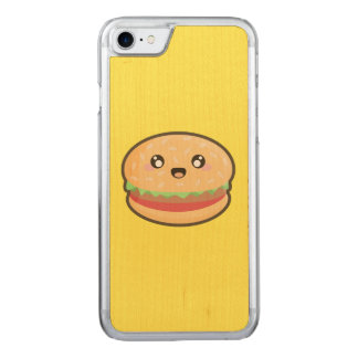 Kawaii Hamburger Carved iPhone 8/7 Hülle