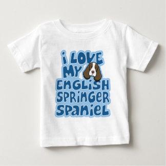 Kawaii I Liebe mein englischer SpringerSpaniel Baby T-shirt