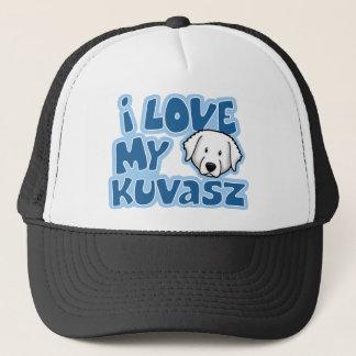 Kawaii I Liebe mein Kuvasz Truckerkappe