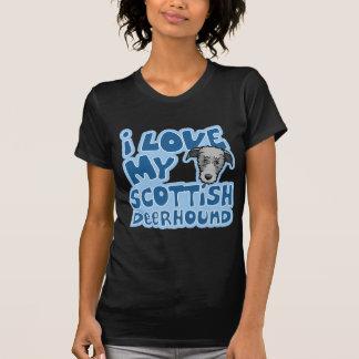 Kawaii I Liebe mein schottisches Deerhound T-Shirt