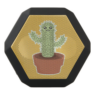 Kawaii Kaktus Schwarze Bluetooth Lautsprecher