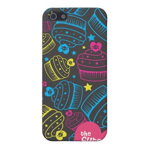 kawaii kleine Kuchen iPhone 5 Schutzhüllen