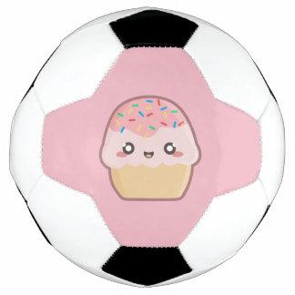 Kawaii kleiner Kuchen Fußball