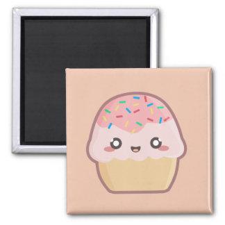 Kawaii kleiner Kuchen Quadratischer Magnet
