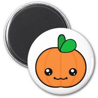 Kawaii Kürbis-Halloween-Magnet Runder Magnet 5,7 Cm
