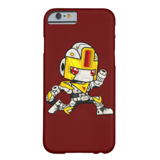 Kawaii laufender Roboter Barely There iPhone 6 Hülle