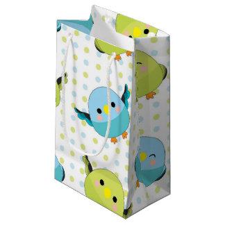 Kawaii Lineolated Parakeet-Geschenk-Tasche Kleine Geschenktüte