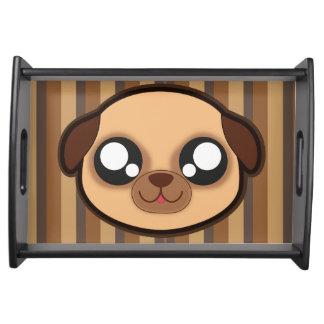 Kawaii lustiges HundeServiertablett Tablett