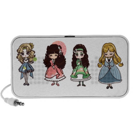 Kawaii Minimalistic Lautsprecher (niedliche Lolita