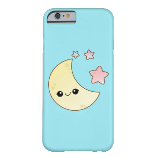 Kawaii Mond und Sterne Barely There iPhone 6 Hülle