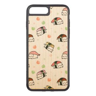 Kawaii Neko Nigiri Carved iPhone 8 Plus/7 Plus Hülle