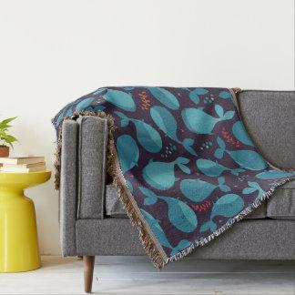 Kawaii niedliche Blauwale Decke