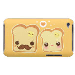 Kawaii niedliche Toastpaare Barely There iPod Hüllen
