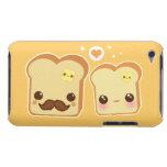 Kawaii niedliche Toastpaare Barely There iPod Hüllen