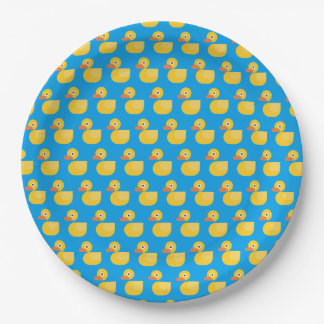 Kawaii niedliches Gummiducky Pappteller