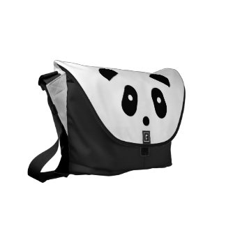 Kawaii ~ niedliches Panda-Gesicht Kurier Tasche