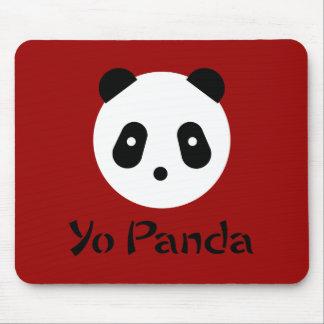 Kawaii ~ niedliches Panda-Gesicht Mauspad