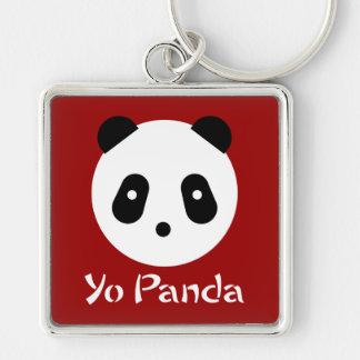 Kawaii ~ niedliches Panda-Gesicht Schlüsselanhänger