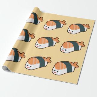 Kawaii nigiri Lachse Geschenkpapier