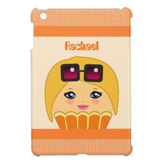 Kawaii orange und gelber niedlicher iPad mini hülle