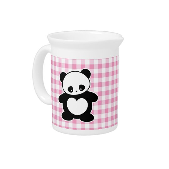 Kawaii Panda Getränke Pitcher