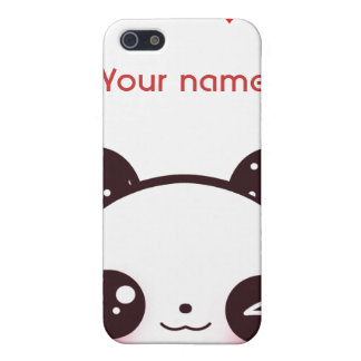 Kawaii Panda iPhone 5 Hüllen