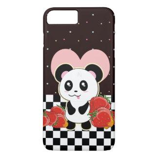 Kawaii Panda niedlich iPhone 8 Plus/7 Plus Hülle