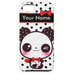 Kawaii Panda - personalisiert iPhone 5 Schutzhülle