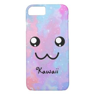 Kawaii PastellColorfull Raum-Hintergrund iPhone 8/7 Hülle