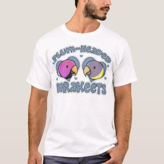 Kawaii Pflaume ging Parakeet voran T-Shirt