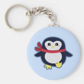 Kawaii Pinguin Schlüsselanhänger