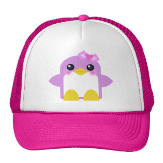 kawaii Pinguinmädchen-Rosa Sweety tweety Truckercap