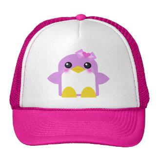 kawaii Pinguinmädchen-Rosa Sweety tweety Netzmütze