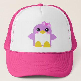 kawaii Pinguinmädchen-Rosa Sweety tweety Truckerkappe