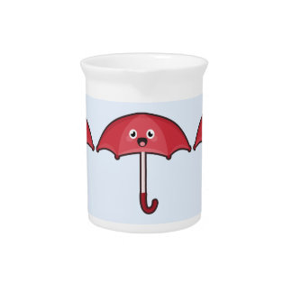 Kawaii Regenschirm Getränke Pitcher