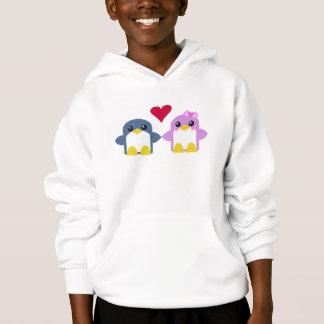 kawaii scherzt Penguins-Liebe Sweety tweety Hoodie